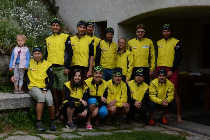 Český team skyrunningu (Sam Straka)