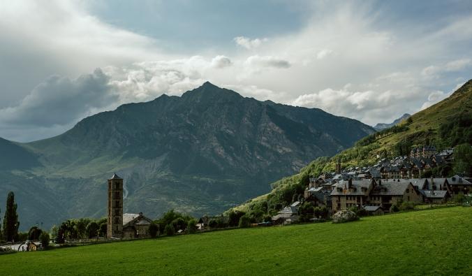 Taull - vesnice s 2 románskými kostelíky. (foto: Jordi Saragossa)