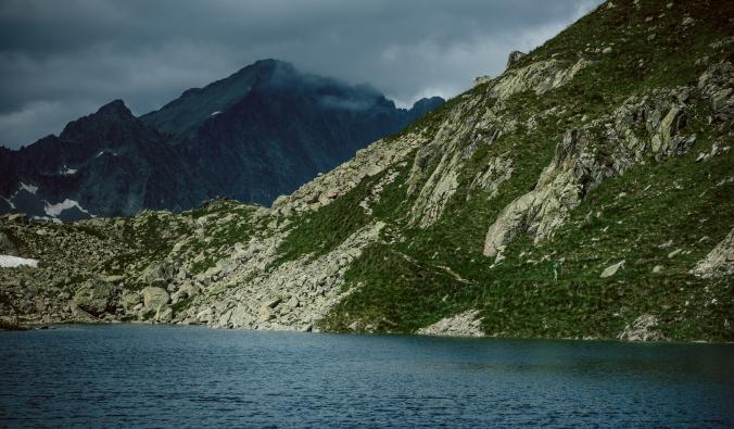 Pyreneje v létě