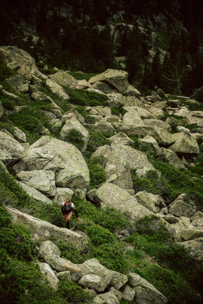 Výstupy často cestu nerespektovaly. (foto: Jordi Saragossa)