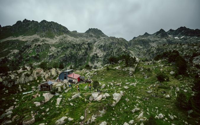 Refugio Saboredo, pohodička. (foto: Jordi Saragossa)