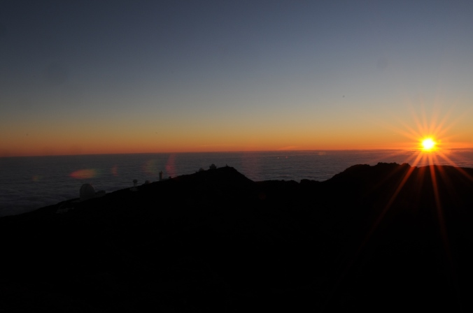 Svítání na La Palmě