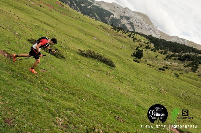 Zeleno Pyrenejí, tam se běhá samo (foto: Elena Mate)