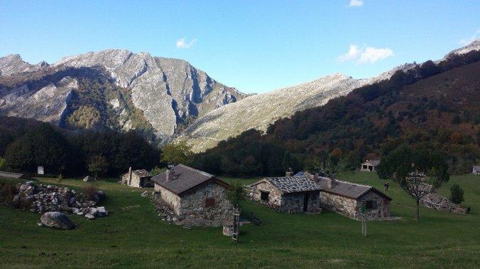 Kamarádova chata v horách - Asturias