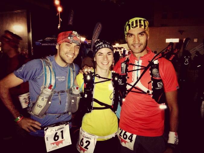 S Marcosem a Zuzkou před závodem