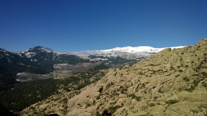 Cuerda Larga - hlavní hřeben Sierra de Guadarrama