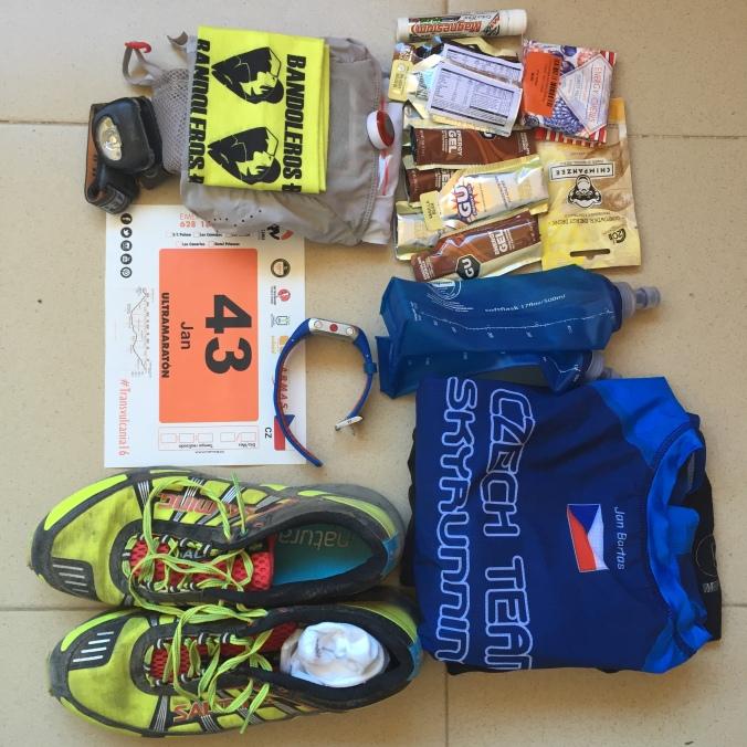 Rychlý závod, malý batoh. Transvulcania 2016